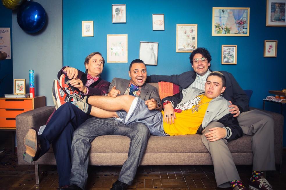Os Parças; Tom Cavalcante; Tirullipa; Bruno de Luca; Whindersson Nunes — Foto: Divulgação