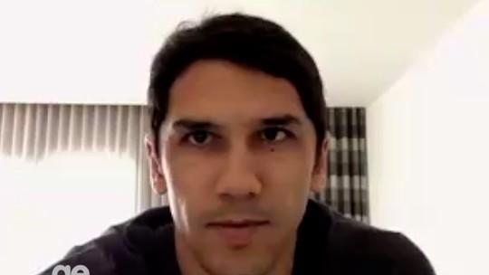 """Lúcio Flávio grava vídeo e se despede do ABC: """"Priorizo a minha família"""""""
