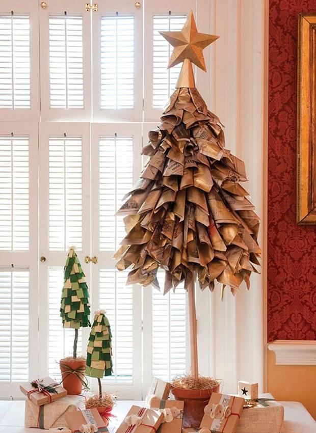 Árvore de revistas (Foto: Pinterest/Reprodução)