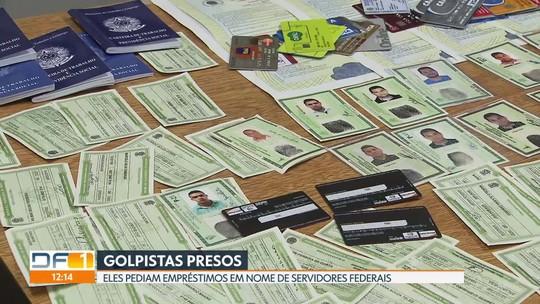 Polícia prende golpistas que usavam dados de servidores federais para pegar empréstimos
