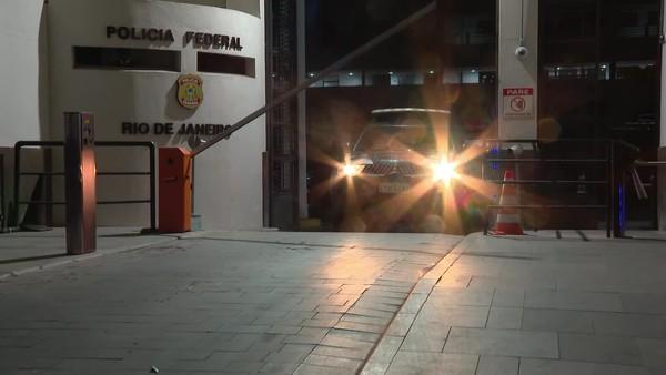 PF faz operação para impedir que maior facção do país se estabeleça no Rio — Foto: Reprodução/ TV Globo