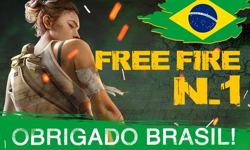 O Brasil é um dos principais responsáveis pelo sucesso de Free Fire � Foto: Divulgação/Garena