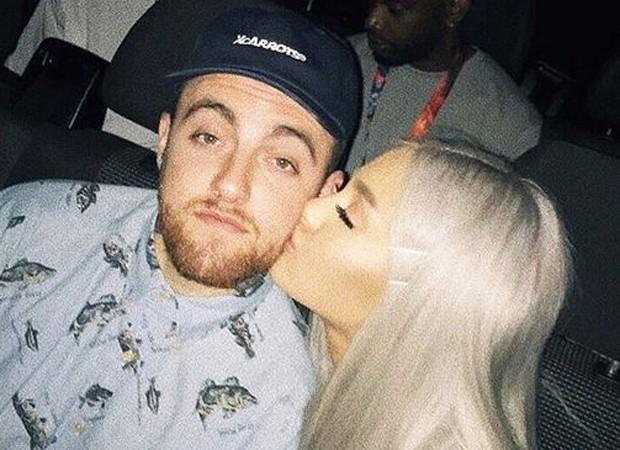 Mac Miller e Ariana Grande (Foto: Reprodução/Instagram)