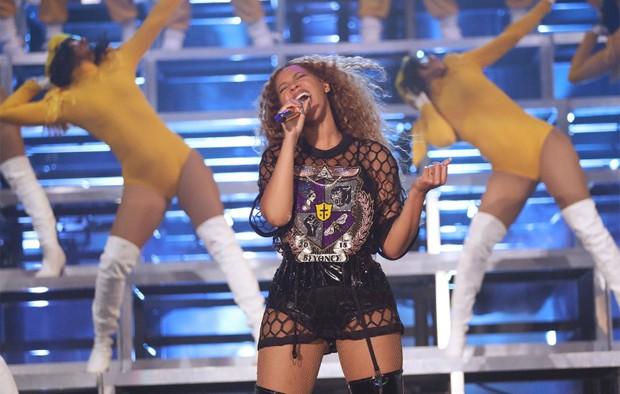 Beyoncé no Coachella 2018 (Foto: Robin Harper/Beyonce.com)