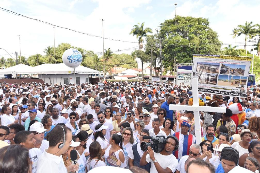 Lavagem do Bonfim — Foto: André Carvalho/Ag. haack
