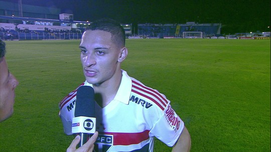 """Antony é duro com atuações do São Paulo na temporada: """"Não podemos viver de empate"""""""