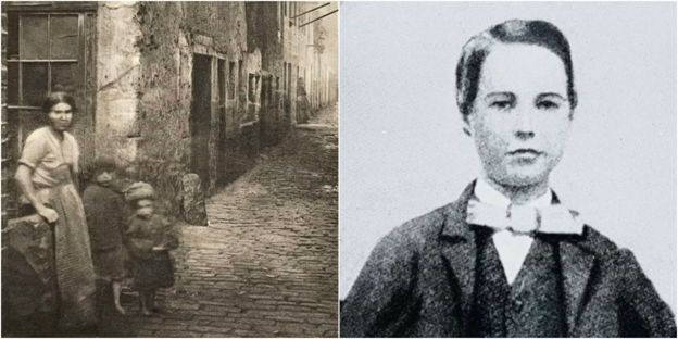 Lipton cresceu em um bairro pobre de Glasgow (Foto: BBC News)