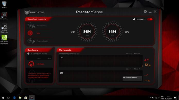 Predator Helios 300 (Foto: Reprodução/Yuri Hildebrand)