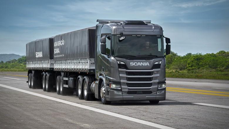 caminhão-scania-transporte-frete- (Foto: Divulgação/Scania)