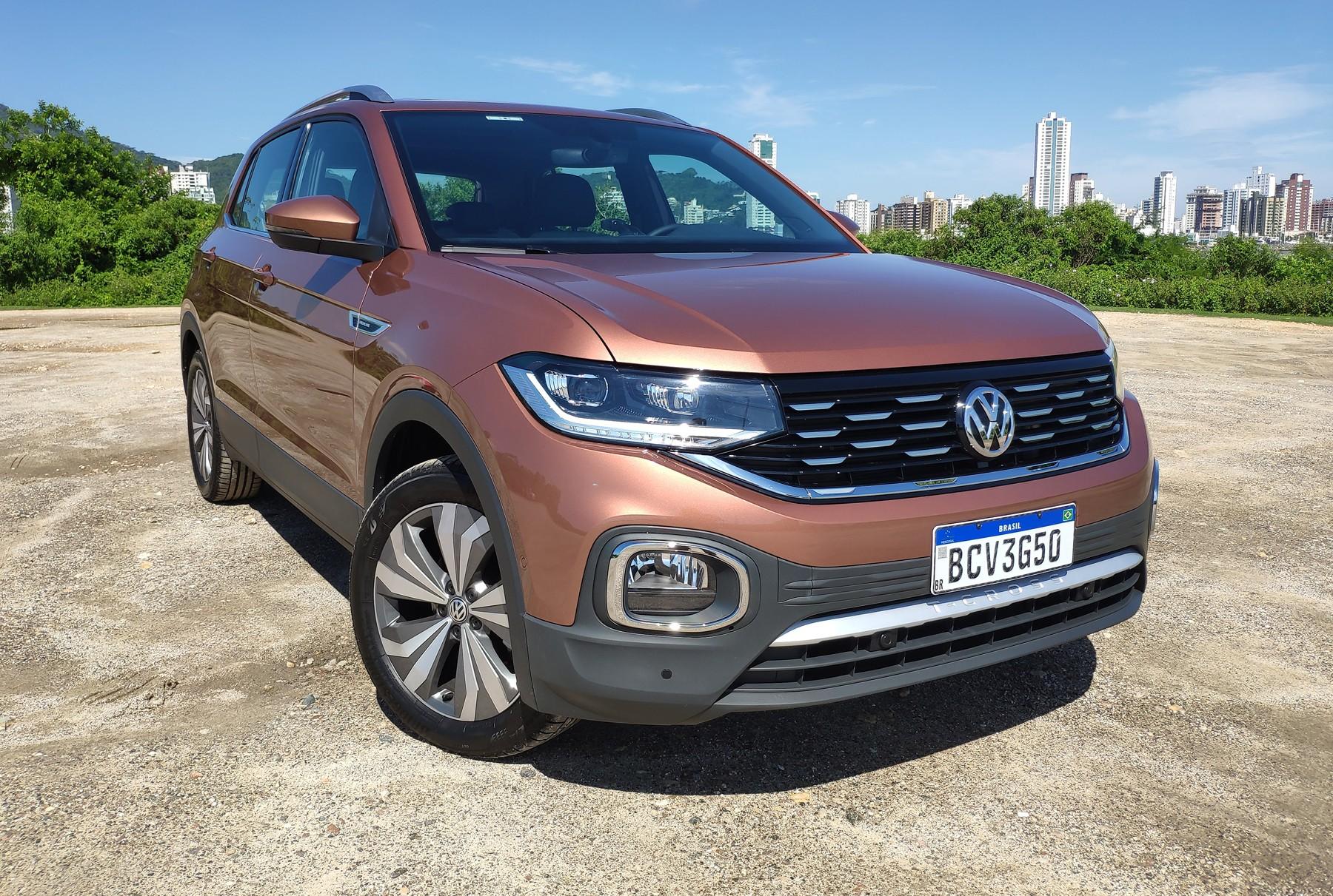 Volkswagen chama recall do T-Cross por risco de trinca no eixo traseiro