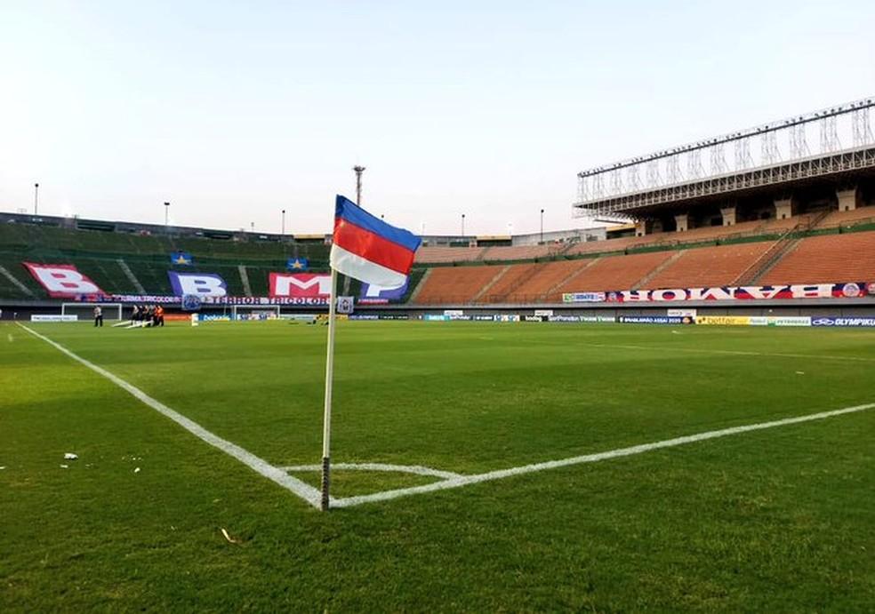Bahia voltará a jogar em Pituaçu a partir de sábado — Foto: Divulgação