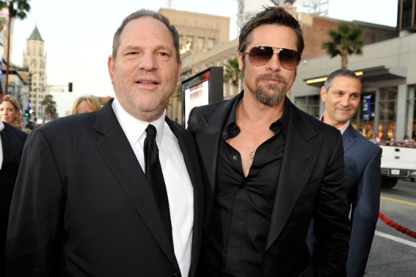 Harvey Weinstein e Brad Pitt (Foto: Getty Images)