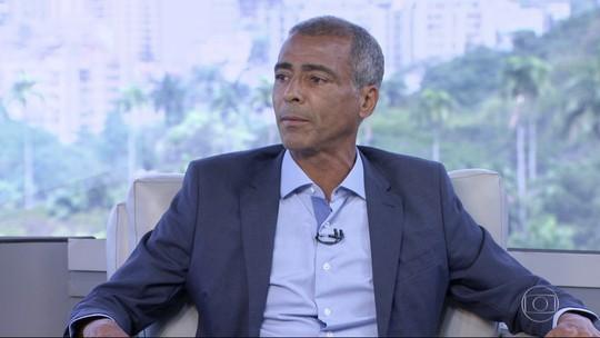 Veja o que é #FATO ou #FAKE na entrevista de Romário ao RJ1