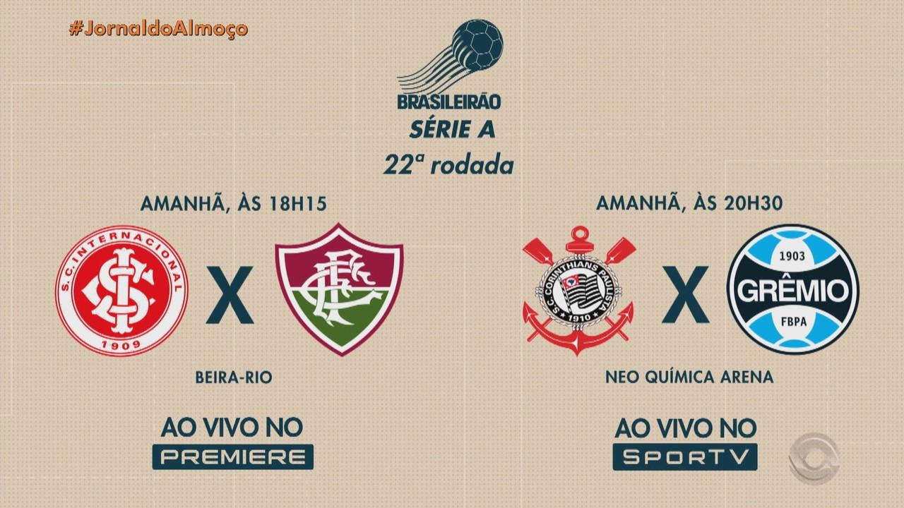 Confira os destaques do Globo Esporte RS neste sábado (21)