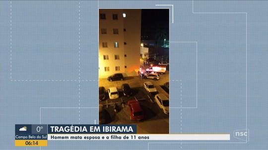 Mulher e filha são encontradas mortas em prédio de Ibirama
