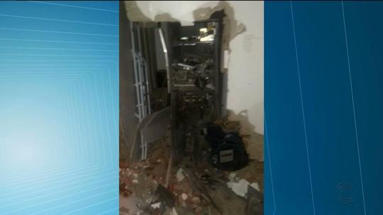 Suspeitos trocam tiros com a PM após explodir caixa eletrônico na PB