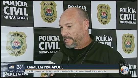 Polícia investiga motivo de agressão a comerciante de Pratápolis, MG