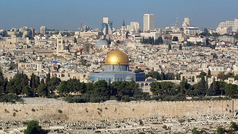 cidade-jerusalem-israel (Foto: Berthold Werner/Wikimedia Commons)