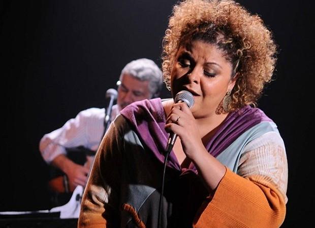 Fabiana Cozza canta Dona Ivone Lara, na Casa Natura Musical (Foto: Divulgação)