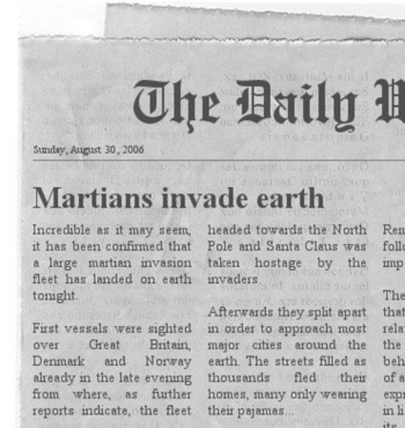 The Newspaper Clipping Generator | Download | TechTudo