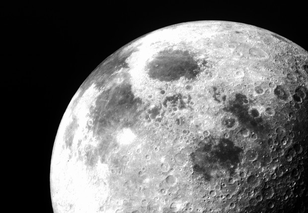 Afinal, quem é o dono da Lua? (Foto: Nasa)