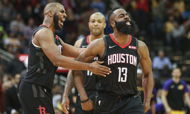 James Harden liderou o Rockets