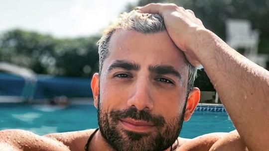 Kaysar Dadour fala sobre carreira de ator: 'Um sonho de criança'
