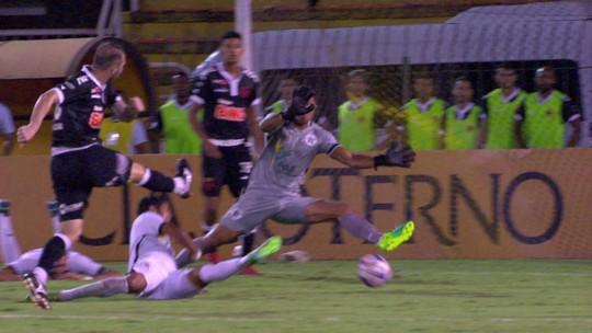 Resende x Vasco - Campeonato Carioca 2019 - globoesporte.com