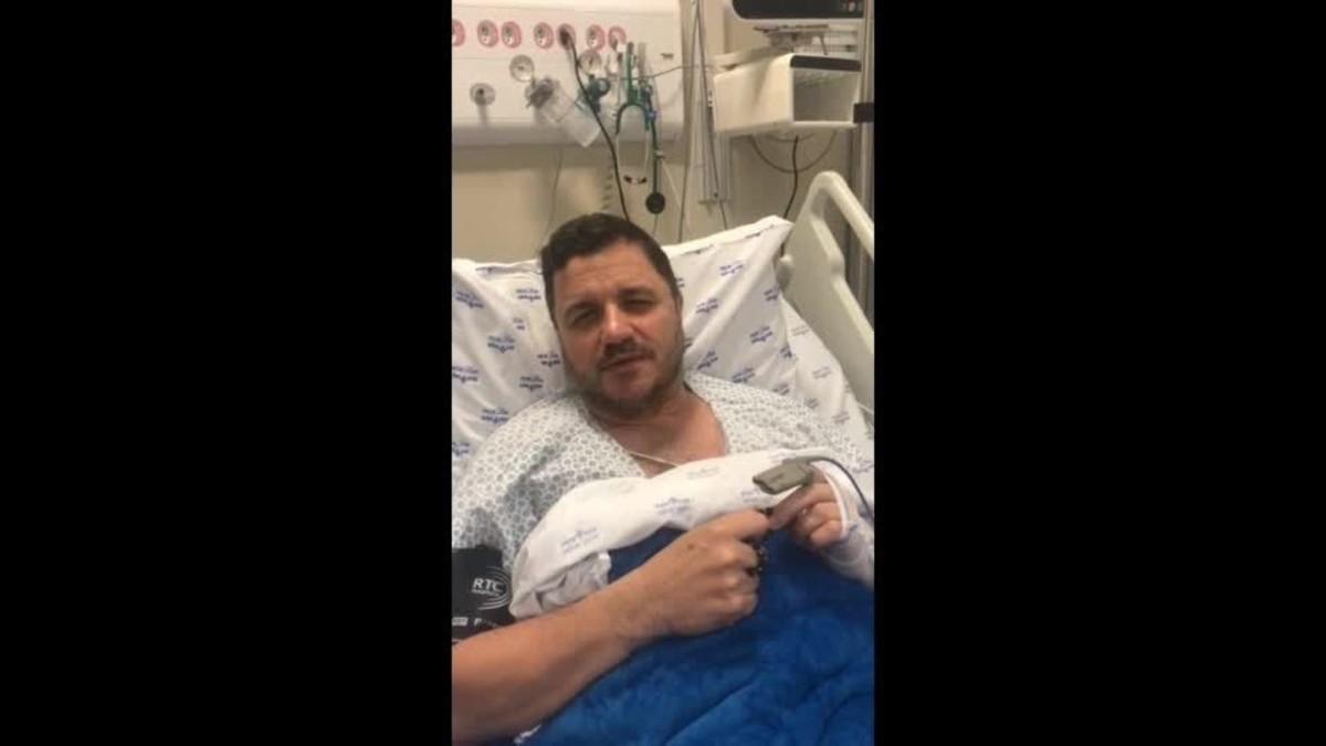 'Foi um milagre. É bom demais estar vivo', diz cantor Maurício Manieri após sofrer infarto em SP | São Paulo
