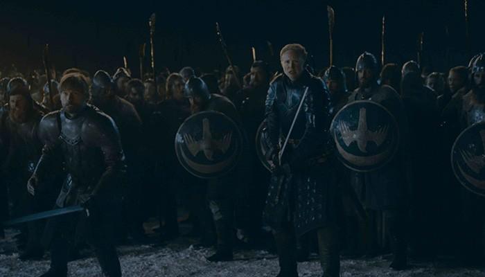 Jaime e Brienne lutarão lado a lado no novo episódio (Foto: Divulgação)