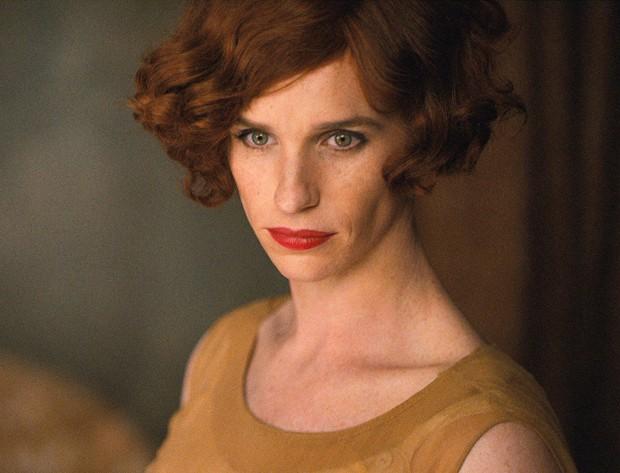 Eddie Redmayne como Lili Elbe em 'A Garota Dinamarquesa' (Foto: Divulgação)