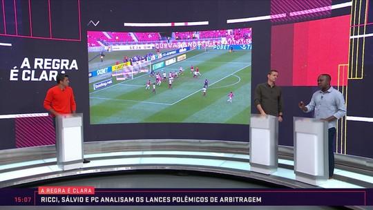 A Regra é Clara: Sálvio analisa imagens de Inter x Fluminense e considera gol legal de Pottker