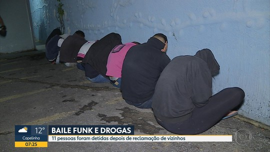 Onze são detidos por suspeita de envolvimento com tráfico na Região Leste de Belo Horizonte