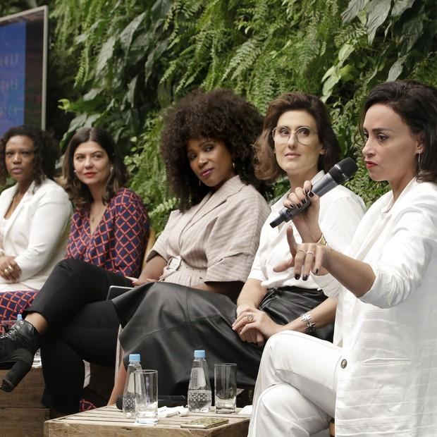 A primeira mesa do evento HRW  (Foto: Divulgação/Eliária Andrade)