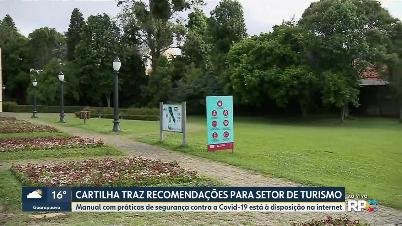 Cartilha faz recomendações para setor do turismo
