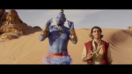 """Versão com atores da clássica animação """"Aladdin"""" é o principal destaque nos cinemas"""