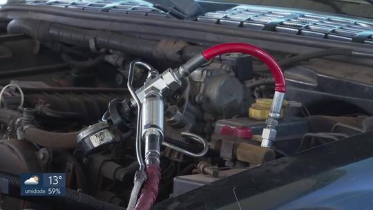 Motoristas desistem do GNV pela dificuldade de achar o combustível