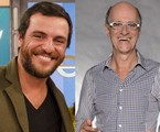 Rodrigo Lombardi e Marcos Caruso | TV Globo