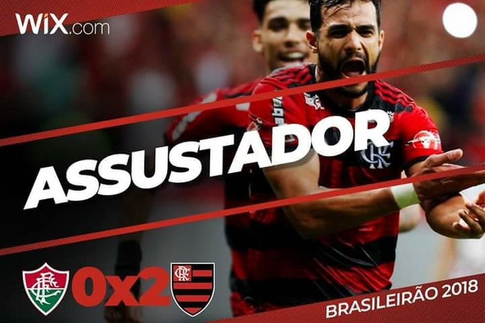 37d2f17182 Rede social do Flamengo comemora vitória (Foto  Reprodução Twitter Flamengo)
