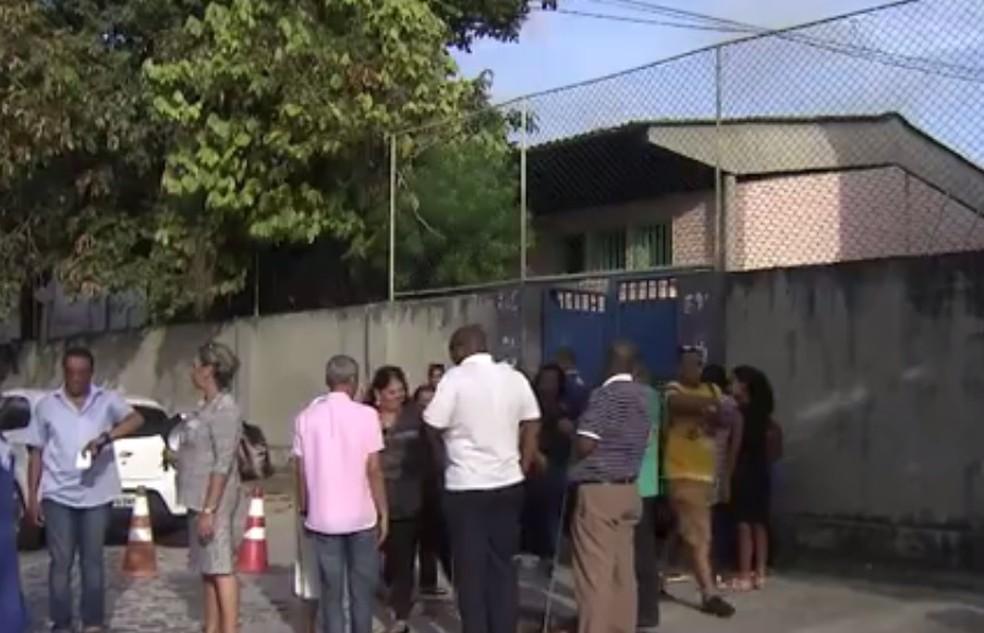 Centro Estadual de Educação Magalhães Neto (Cea) — Foto: Reprodução/TV Bahia