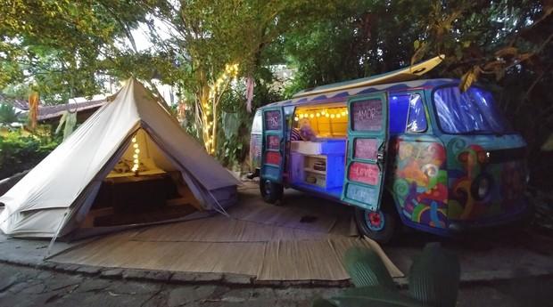 Hospedagens do Hostel da Vila, em Ilhabela (Foto: Reprodução)