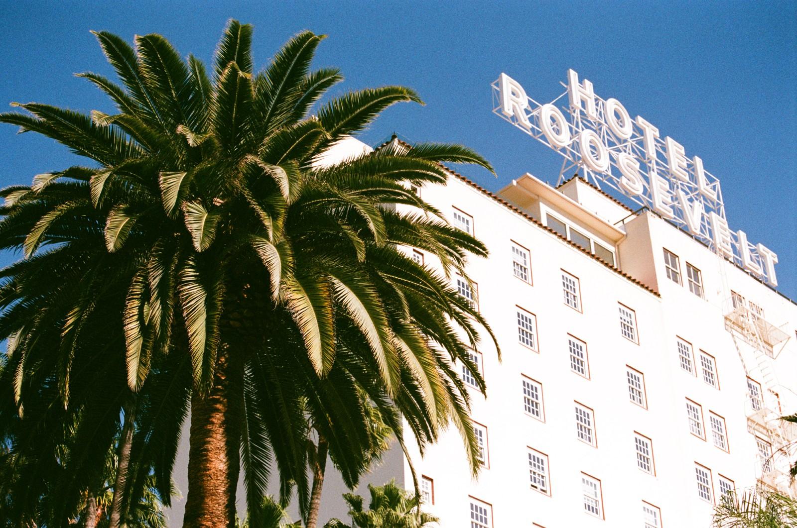 Fachada do The Hollywood Roosevelt (Foto: Preferred Hotels & Resorts / Divulgação)