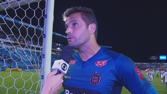 Marcelo Pitol avalia empate diante do Avaí e valoriza ponto conquistado na Ressacada
