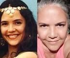 Tereza Seiblitz interpretou a cigana Dara, que entra em conflito com a família por rejeitar as tradições do seu povo. O trabalho mais recente da atriz foi em 'Milagres de Jesus' (2015), da Record | TV Globo - Reprodução/Instagram