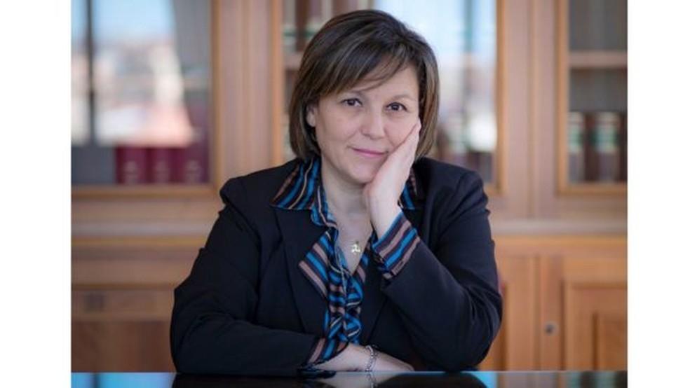Piera Aiello foi eleita para o Parlamento italiano em março de 2018 — Foto: M5S via BBC