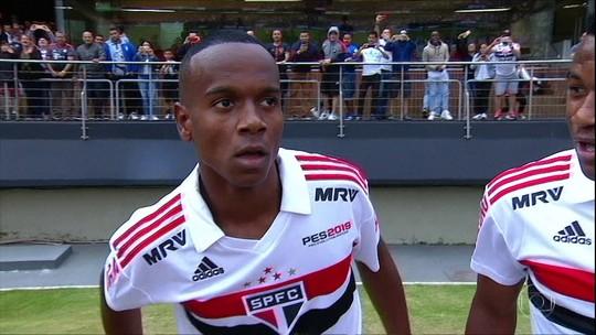 Bragantino se interessa por Walce e Helinho, dupla do São Paulo