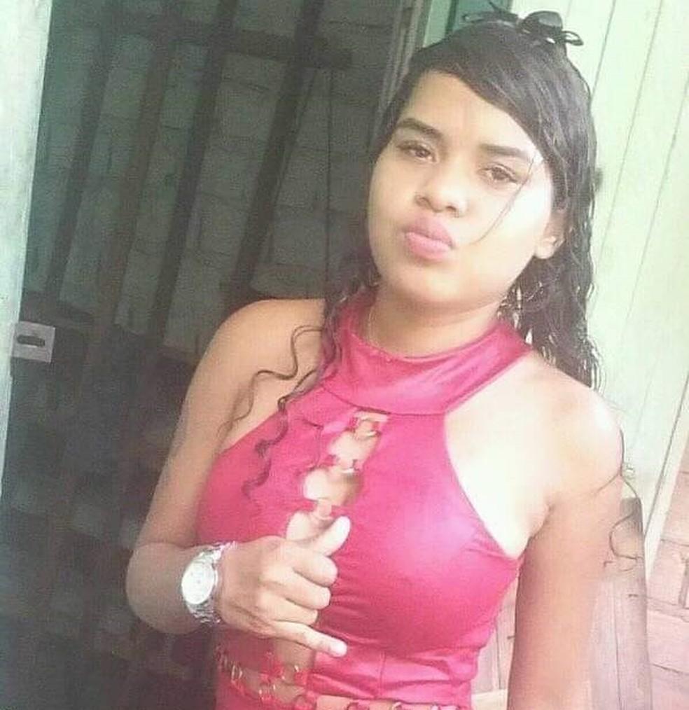 Jovem é executada a tiros no bairro do Telégrafo, em Belém. — Foto: Reprodução / Redes sociais