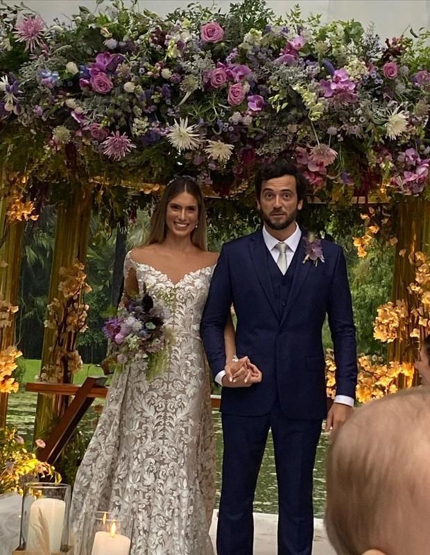 Branca Feres se casa com Gustavo Frota (Foto: Reprodução/Instagram)