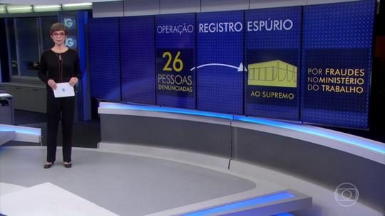 PGR denuncia 26 pessoas na Operação Registro Espúrio