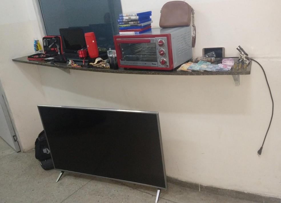 Material apreendido pela polícia. — Foto: PMRN/Divulgação